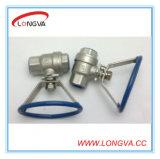 Steel di acciaio inossidabile Ball Valves con Oval Handle
