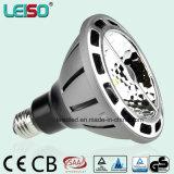 상업적인 특허 3dcob LED PAR38 램프 (LS-P720-BWW/BW)