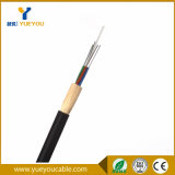 12/24 Fibras Monomodo G652D 9/125 Dielectrico Kevlar 100M 150M Vanos Exterior Aerea Cable Óptico