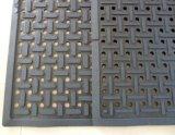 Antibacterial Anti-Slip Drainage Rubber Kitchen Pavimento Mats / Oil Resistance Rubber Floor