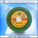107mm усиленный режущий диск смолаы для нержавеющей стали