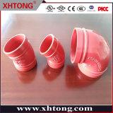 Raccordi per tubi duttili in ferro a gomito Xinhuitong per prodotti antincendio