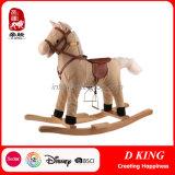Stuk speelgoed van het Hobbelpaard van de Ruiter van de Lente van de Apparatuur van de Speelplaats van kinderen het Houten