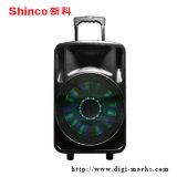 La alta calidad de superpotencia altavoz de la batería con LED y Bluetooth
