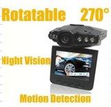 """HD720p 2.4 """" LCD 8xdigitalのズームレンズは車のためのブラックボックスを検出する"""