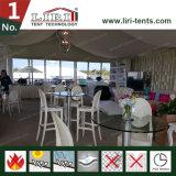 Tente blanche de chapiteau de banquet de mariage de PVC en vente chaude