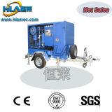 Máquina móvel do filtro de petróleo do transformador do vácuo do reboque