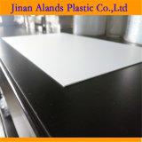 Forex de PVC de 3 mm da placa de espuma de cor branca e preta