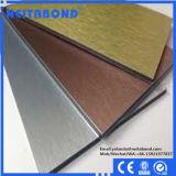 el panel compuesto de aluminio de 2m m 3m m 4m m Neitabond para la decoración del omnibus de la cortina