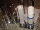 стальной очиститель воды 304stainless с разъемами переключателя крана фильтра и нержавеющей стали PP/Udf+CTO