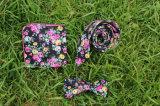 يطبع خاصّ بالأزهار عرضيّ رابط إنحناء ثبت رابط مع تلاءم جيب مربّع