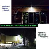 Bluesmart 6W-12W 1500-1800lm Bridgelux Fabrik-direktes Solargarten-Licht