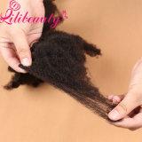 Волосы Afro Weave скручиваемости Remy влюбленности женщин Kinky индийские