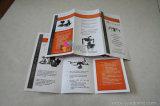 3개의 위원회에 의하여 접힌 소책자 또는 카탈로그 또는 브로셔 인쇄 주문 설계하십시오
