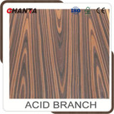 2500 * 640mm Engineered Recon Rosewood Veneer para o Egito