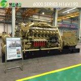 groupe électrogène approuvé de Jdec de prix usine de la CE d'OIN 2200kw avec l'engine de gaz 1 MW