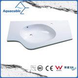 Bacia de lavagem do banheiro de Polymarble da alta qualidade