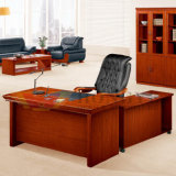 Alta calidad L escritorio de oficina ergonómico de la chapa de madera de la dimensión de una variable (HY-D8416)