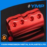 Venta caliente rojo Anodize aluminio máquina CNC de piezas con una buena calidad