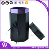Parfum de vêtement de chocolat de fleur empaquetant la boîte-cadeau cosmétique