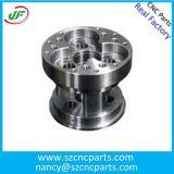 高性能CNCの機械化アルミニウム自動車またはオートバイの予備品