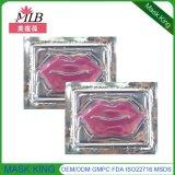 과민한 피부 관리 금박지는 입술 가면을 복구한다