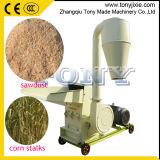 (A) de l'Agriculture de la paille de maïs des tiges de maïs grain un broyeur à marteaux de céréales