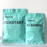 草の解毒の焼跡の脂肪質の茶(PMを14日プログラムは清潔にしなさい)
