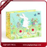 Bolsas de papel del regalo de las compras de Pascua del bebé