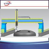 Tipo máquina do pórtico do CNC de estaca do sulco do chanfro da placa de aço