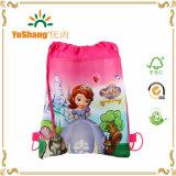 Sacos com cordão desenhado personalizado com 100% reciclados sem chumbo