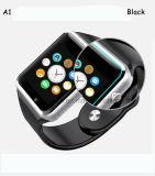 """1.54の""""タッチ画面(A1)が付いている最も新しいBluetoothのスマートな腕時計の電話"""