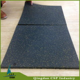 Rubber Mat of Indoor Gym Fitness com certificação SGS