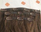Clip dei capelli umani nelle estensioni dei capelli