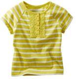Haut de la dentelle à rayures Girl's Shirt Kid's T-Shirt Tops G30