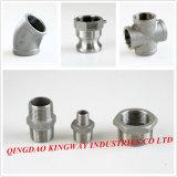 Instalación de tuberías de acero inoxidable de la unión, F/F