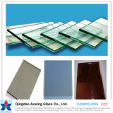 Tinted/Clear 4-12mm Toughened/Float Reflective Glass with Ce