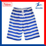 Shorts della spiaggia di sublimazione della tintura di usura di ginnastica di disegno di modo di Healong