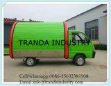 4つの車輪が付いている電気中国の移動式食糧トラック