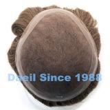 Chapéu de coco do cabelo humano dos homens
