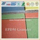 Цветастые зерна EPDM резиновый для идущего следа, паркуя дороги, спортивной площадки