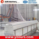 Linea di produzione verticale del rivestimento della polvere per il profilo di alluminio