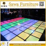 ダンス・フロア照らされた対話型LEDのダンス・フロア