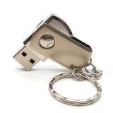 USB 2.0 금속 기억 장치 지팡이 USB 섬광은 열쇠 고리를 가진 Pendrives 4GB 8GB 16GB 32GB 64GB USB 지팡이 펜 드라이브를 몬다