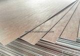 Madera contrachapada comercial de la madera dura roja con el mejor precio de Linyi