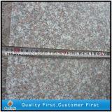 Pedate di punti della pietra del granito G664 e colonne montanti naturali poco costose