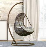 Boa qualidade, varanda, cadeira de suspensão ao ar livre, tecelagem, pátio, balanço, móveis de vime D014A