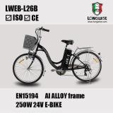 """26 """" [لد سد بتّري] درّاجة رخيصة كهربائيّة ([لوب-ل26ب])"""