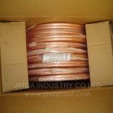 Tempérament doux ASTM B280 tuyau en cuivre de la bobine de crêpes dans 45m
