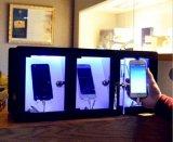 Les chargeurs de bureau offre 3 casiers de remplissage avec la lumière
